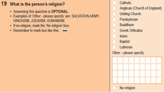 Census 2011 Q19