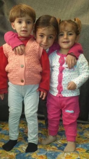 I love my three children... Yasser, Rose and Minas...